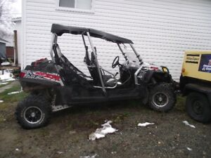 2012 900 rzr 4 seater with only 1079 miles