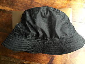 Gucci Bucket hat *Brand new* in the box. 100% Authentic West Island Greater Montréal image 3
