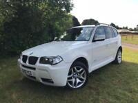 2010 10 BMW X3 2.0 XDRIVE20D M SPORT 5D 175 BHP DIESEL