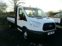 3f071d1934 2015 15 FORD TRANSIT 350 2.2 TDCI 125 BHP EXTENDED LWB DROPSIDE SINGLE CAB  DIES