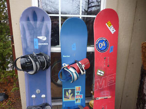 7 Snowboards for sale .