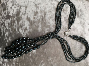 New Magnificent Baroque Real Perl Necklace