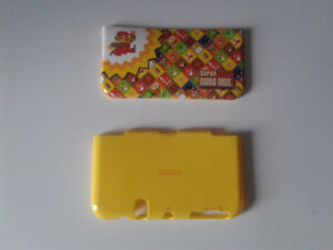 New  3DS XL , plaques  protection , Mario Bross