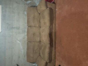 Couch and recliner for sale 300 for both