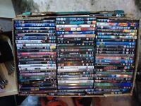 Huge joblot of DVDs (150+)