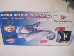 Ultra-Fab Products Chock & Lock Stabilizing Chocks Tandem Axles