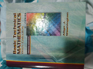 Basic Technical Mathematics with Calculus Eighth Edition