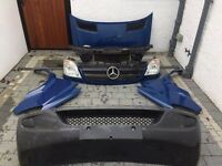 Mercedes sprinter front end