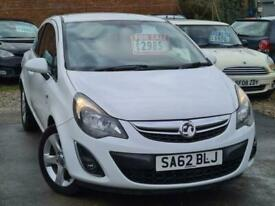 image for 2012 Vauxhall Corsa Exclusiv 1.2 Hatchback Petrol Manual