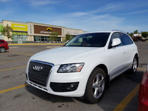 2012 AUDI Q5 2.0T PREM PLUS under original warranty