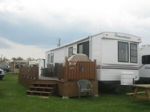 roulotte a louer/trailer for rent