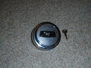 Locking Gas Cap for Vintage Mustang, New - Fits 65 to 70 Mustang