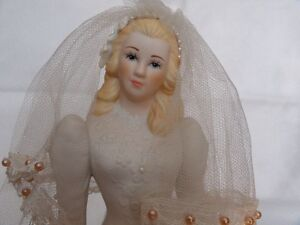 Music Box Blonde Haired Bride Figurine London Ontario image 1