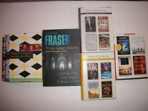 Book sets in perfect condition: $5 each