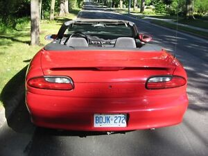 1996 Camaro (Price Reduced) Convertible V6 3.8 Litre Stratford Kitchener Area image 3