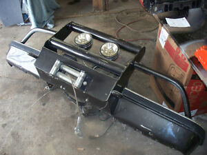 1973 to 87 chev bumpers with winch $400 firm
