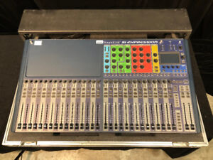 Console Soundcraft Si Expression 3 et Stage box