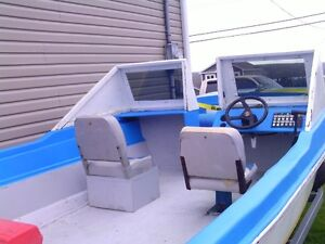 for sale a 17 ft fiber glass boat and a brand new trailer