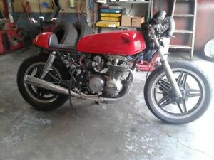1979 Honda CB650 Café racer project bike