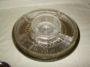 Serving Separator Dish - revolving Metal base platform* Kitchener / Waterloo Kitchener Area image 3
