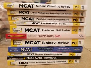 MCAT BOOKS (The Princeton Review)