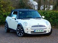 2008 58 MINI CONVERTIBLE 1.6 COOPER SIDEWALK 2D 114 BHP