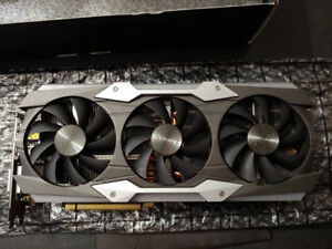 Zotac 1080 Ti Amp Extreme Core 11GB *Almost New* $900