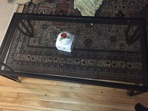 Coffee table really clean