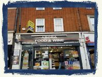 SHOP NAME -ARORA FOOD & WINE(1) , REF:RB216