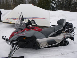 GREAT 2 UP SLED & ENCLOSED TRAILER PACKAGE