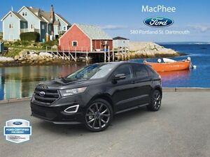 2016 Ford Edge Sport  - Leather Seats -  Bluetooth -  Heated Sea