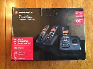 Motorola DECT 6.0 Wireless Phones - New