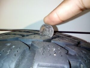 Winter Tires & steel rims (Mud + Snow P 205/65 R 15)*Negotiable*