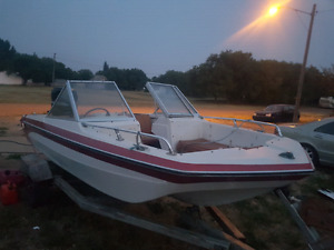 16' 90HP Mercury Open Bow