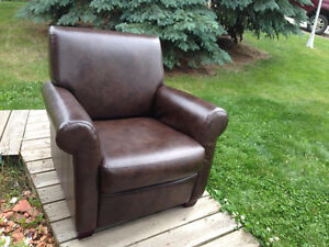 Large comfortable leather Chair