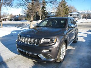 2014 Jeep Grand Cherokee Summit Diesel. ALL TAXES INCLUDED