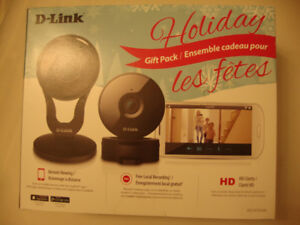 2 Pack D-Link 1080p Wireless Night Vision Security Camera Mobile