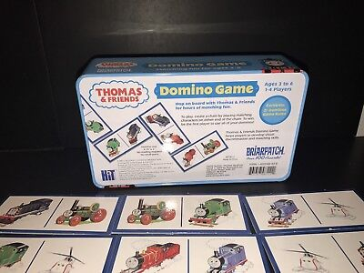 Thomas and Friends Domino Game For Kids In Tin Box **free shipping**