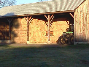 Hay and Wheat straw  for sale