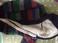 Hardly worn boys fleecy cardigan. Age 5-6