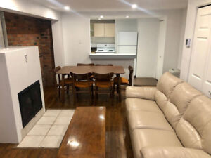 Furnished with backyard McGill Ghetto - Meublé avec cour