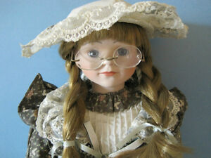 Porcelain Collector Doll