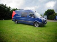 LHD LEFT HAND DRIVE Volkswagen Crafter 2.5TDi LWB H/R 2007