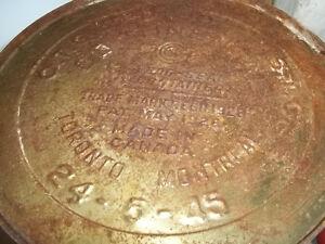 $99 1945 White Rose 5 Gallon Motor Oil Tin Can Sarnia Sarnia Area image 5