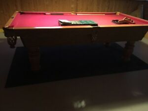 Dufferin 4'x8' slate Pool Table
