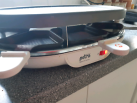 Raclette and grill