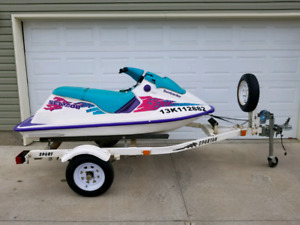 SEADOO BOMBARDIER 600CC WITH TRAILER!!