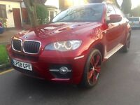 Left hand drive BMW X6 3.0xdrive