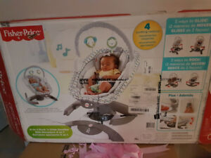 Fisher Price 4 in 1 Rock n Glide Soother for sale!