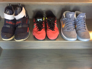 Men's Basketball shoes – 3 pairs